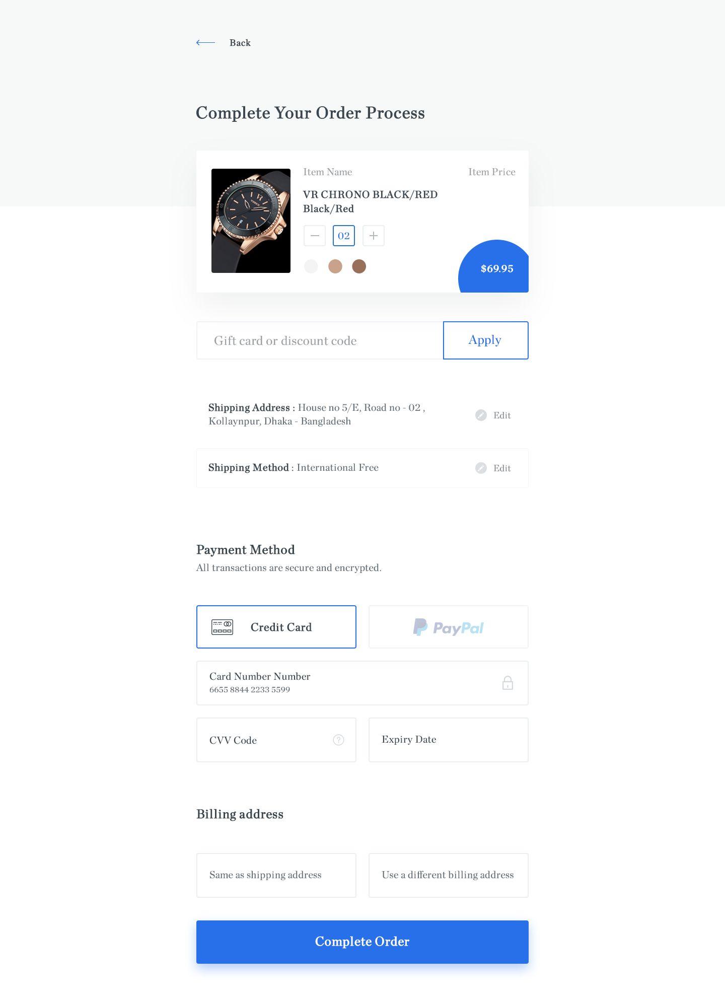 Checkout | Modal windows / Popup / form UI | Modal window