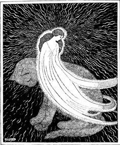 """By Jennie Harbour, From """"My Book of Favourite Fairy Tales"""", Raphael Tuck & Sons, 1921."""