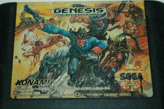 Sega Genesis Sunset Riders authentic vintage by TheGeekitarium