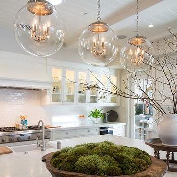 Regina Andrew Large Globe Pendant Transitional Kitchen
