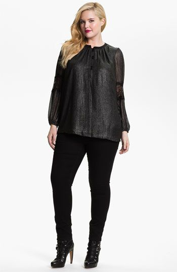 Evans 'Super Stretch' Jeans (Plus size) available at #Nordstrom