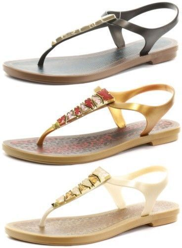 4273030fc Grendha Brasil Jewel II Sandal Womens Thong Sandals ALL SIZES AND COLOURS