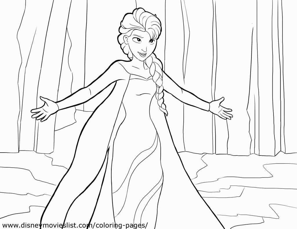 Frozen Coloring Pages Disney