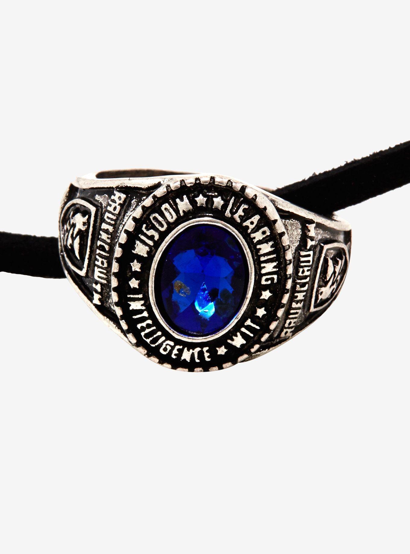 Harry Potter Ravenclaw Ring Necklace Harry potter
