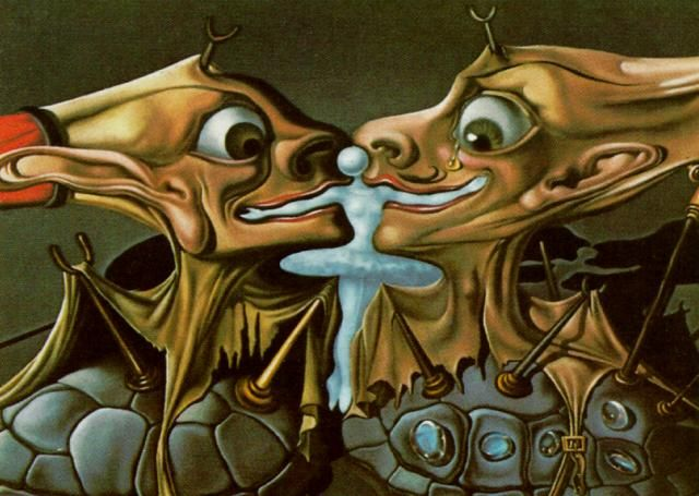 Souvent Salvador Dali >> Design pour 'Destino', 1947 | (huile  QL76