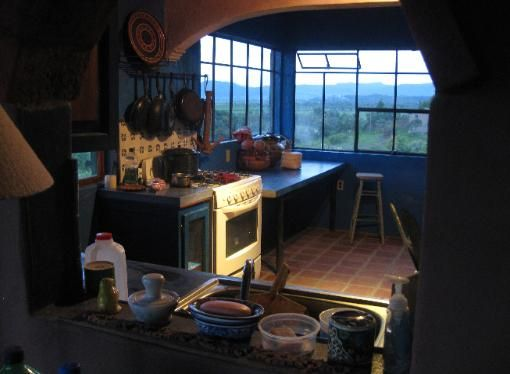 Holy Mole bnb kitchen