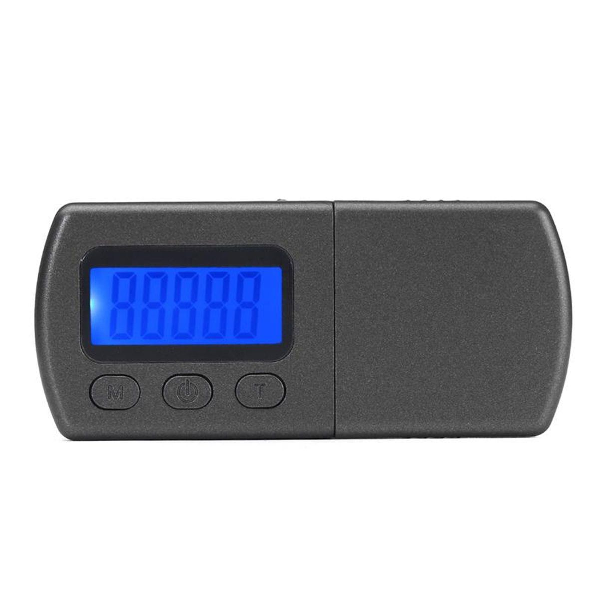 Black Digital Turntable Stylus Force Scale Gauge LED Screen Electronic Tester