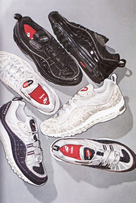 sports shoes 5d9d0 8d7e0 ... Here Are All the Colorways of the Supreme x NikeLab Air Max 98 ...