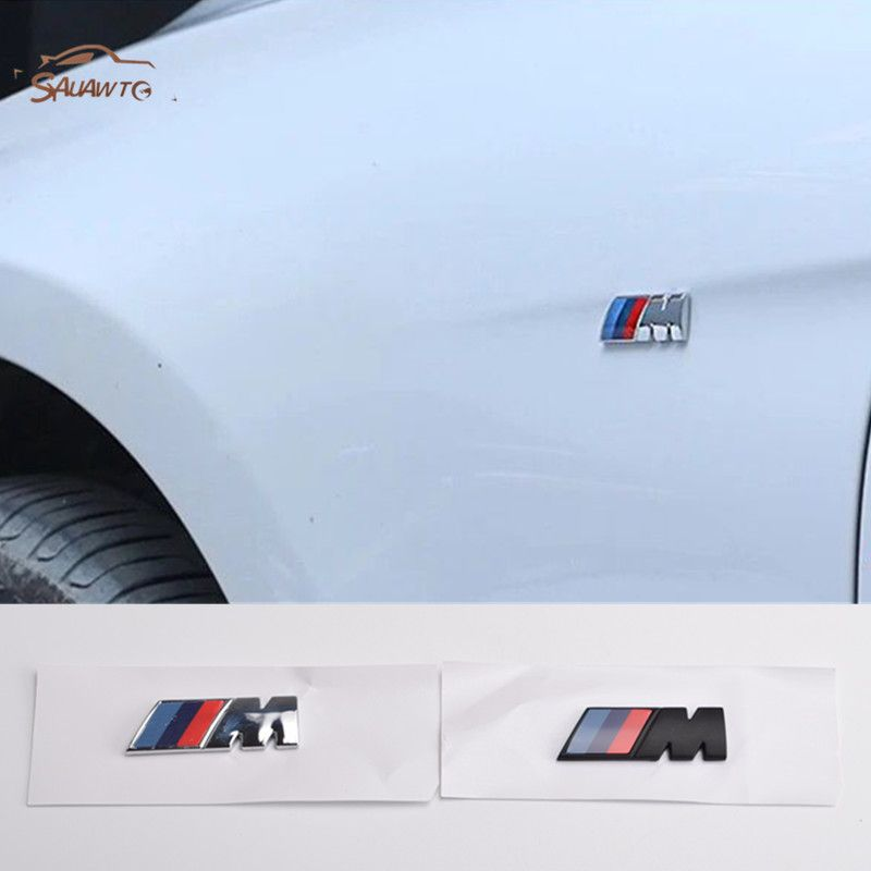 5x //////M Power Sticker logo for leather seats and other flat and smooth surfaces