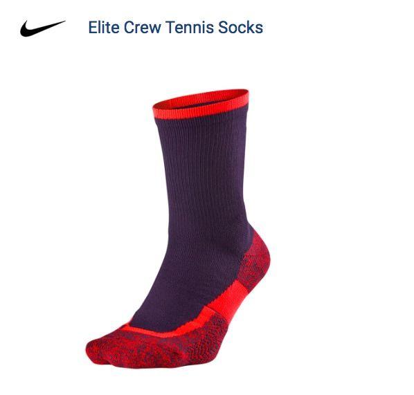 Nike Nikecourt Elite Tennis Socks Sx4935 524 Federer Purple Crimson Med 6 8 Ebay Tennis Socks Workout Gear Things To Sell
