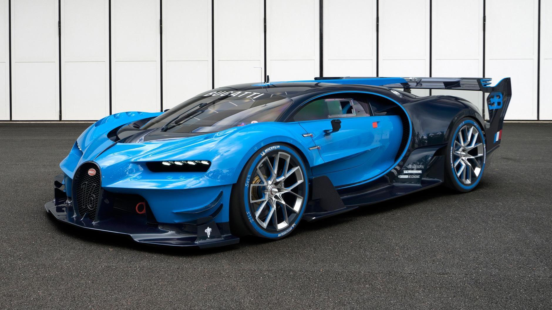 Uma audiência exclusiva com o Bugatti Visão GT