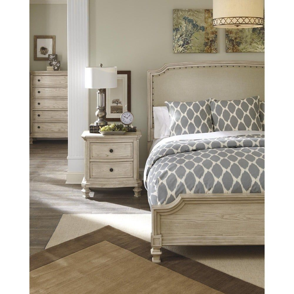 Demarlos Arched Top Panel Bed in 2020   Farmhouse bedroom ...