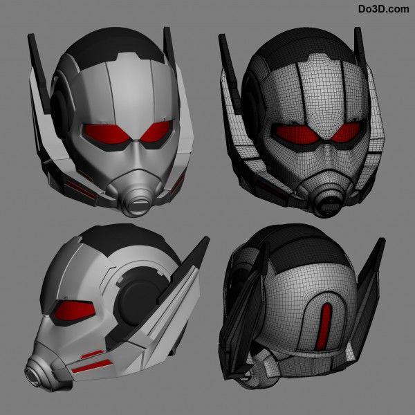 ant-man civil war helmet 3D printable model by do3d | 3D