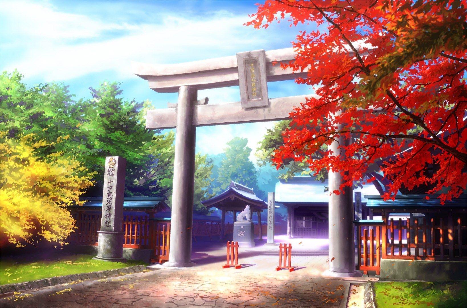 1639x1080 Free Screensaver Original Anime Scenery Wallpaper Scenery Wallpaper Anime Scenery