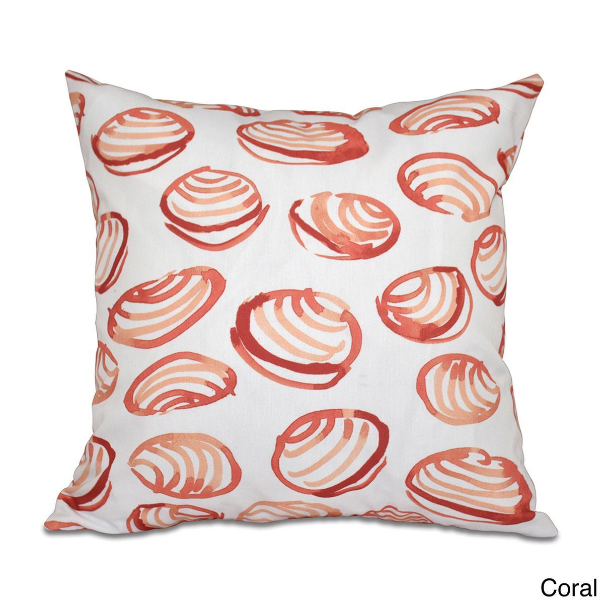E by design clams geometric print inch throw pillow products