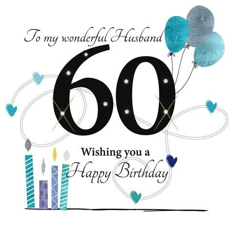 Image Result For Happy 60th Birthday Husband