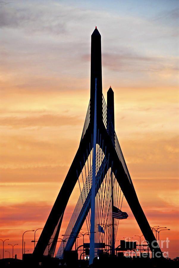 Amazing Snaps: Zakim bridge in Boston | See more