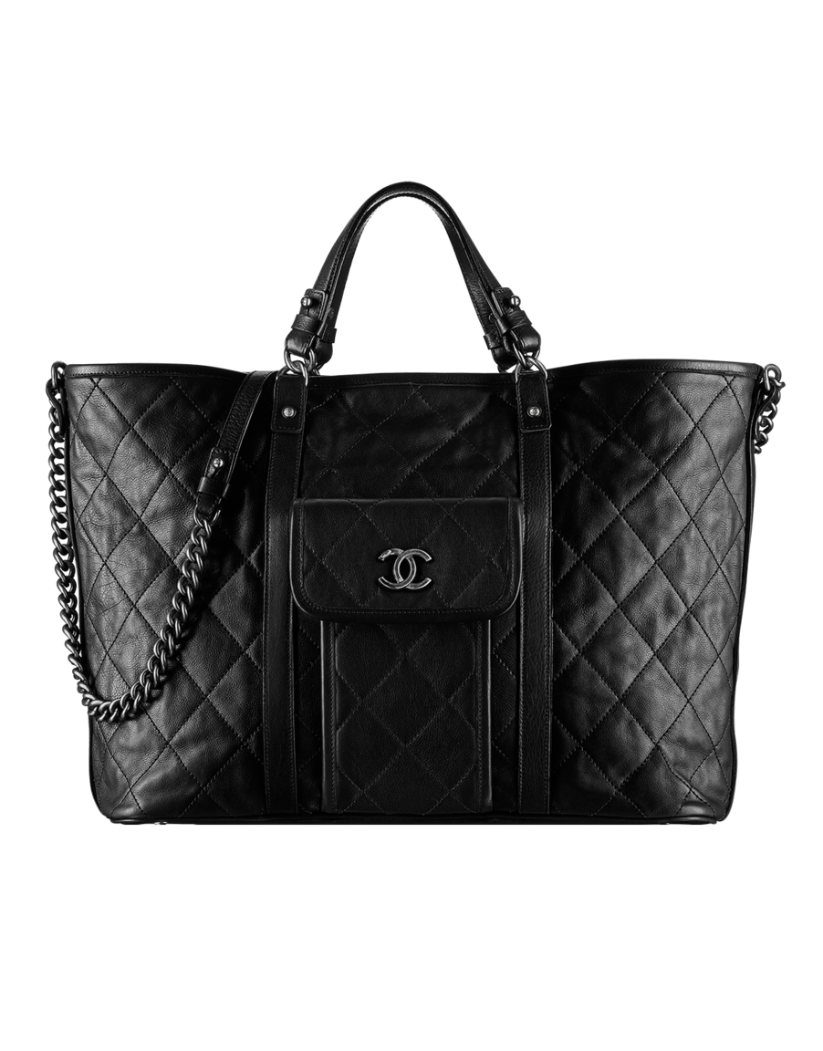 c6a5e3b45f61 Large calfskin shopping bag - CHANEL - $5500 | Glamorous | Fashion ...