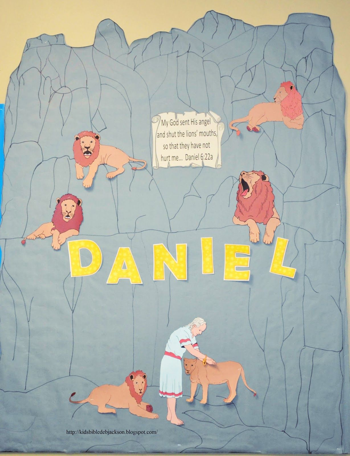 Printable coloring pages daniel and the lions den - Daniel The Lion S Den Lesson Ideas And Printables Biblefun Otbiblelesson