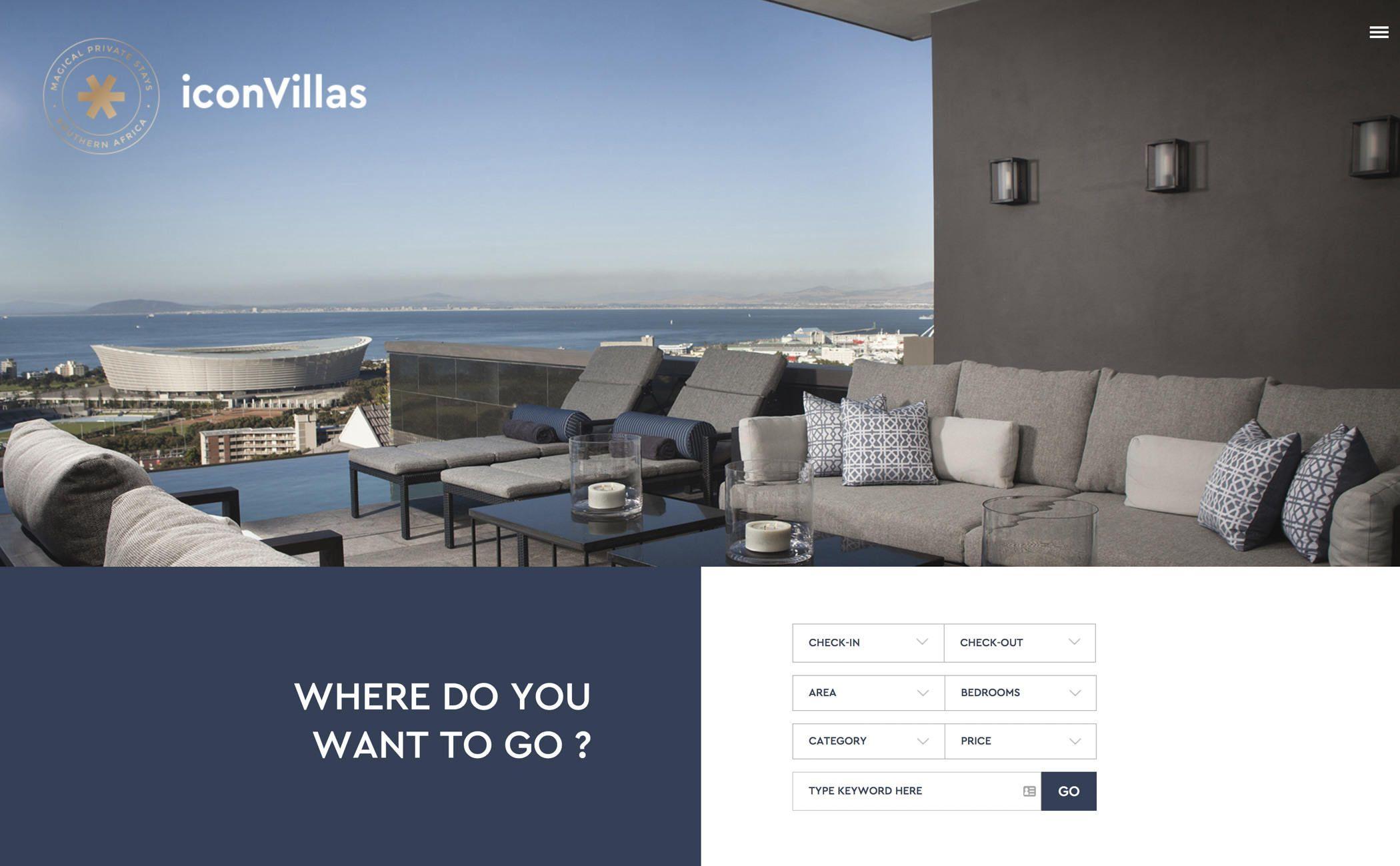 Icon Villas Design, Web design inspiration, Design