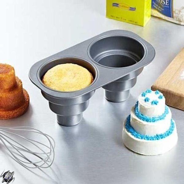Que fofura essa forma para bolos em miniatura!