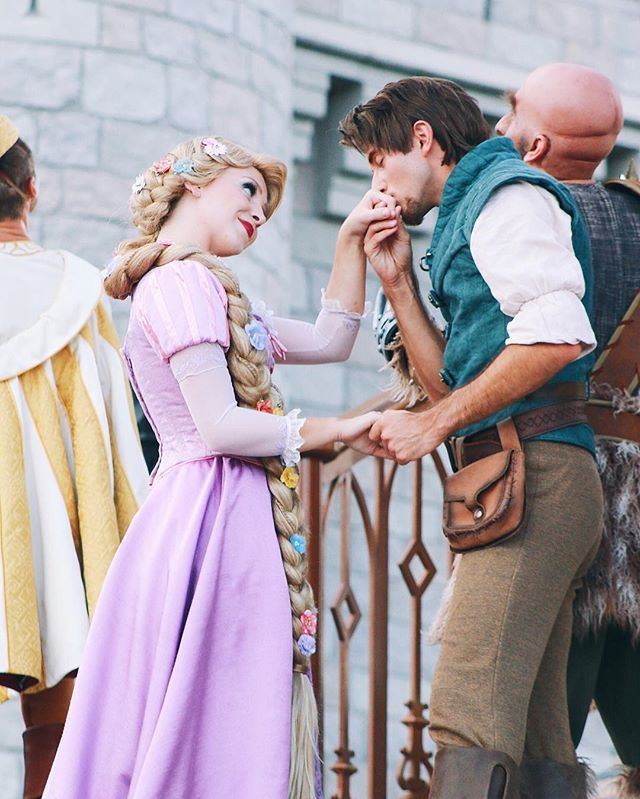 He's a lover not a fighter ☺️ #mrff #mickeysroyalfriendshipfaire • Okay but like I've been watching the Tangled series trailer wondering if this is actually real life and making sure I haven't DIED and gone to Tangled heaven ✨