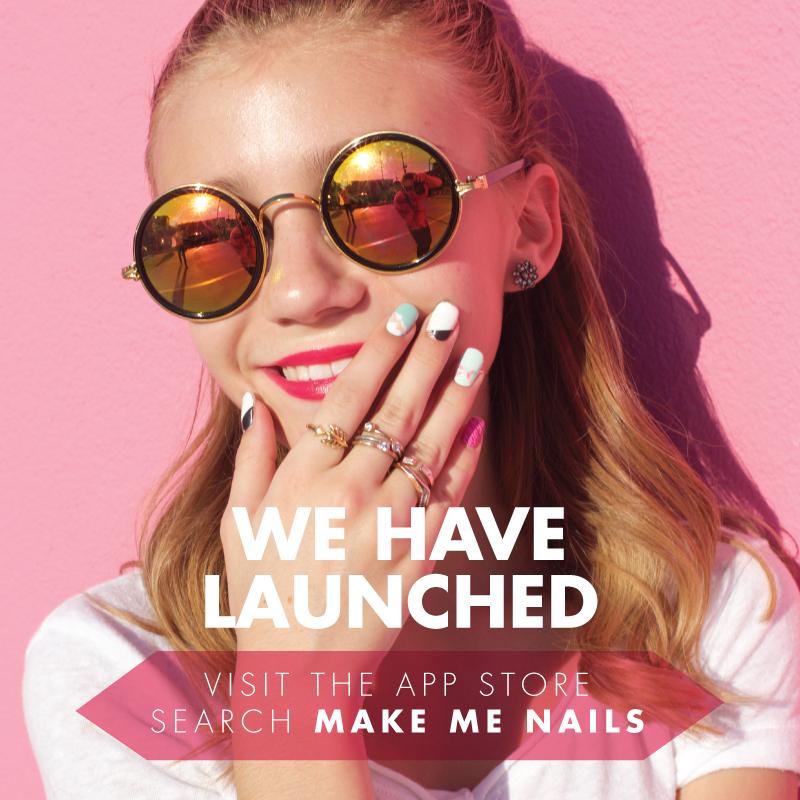 Make Me Nails has launched! | G. Hannelius | Pinterest