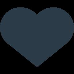 ♥️ Black Heart Suit Emoji