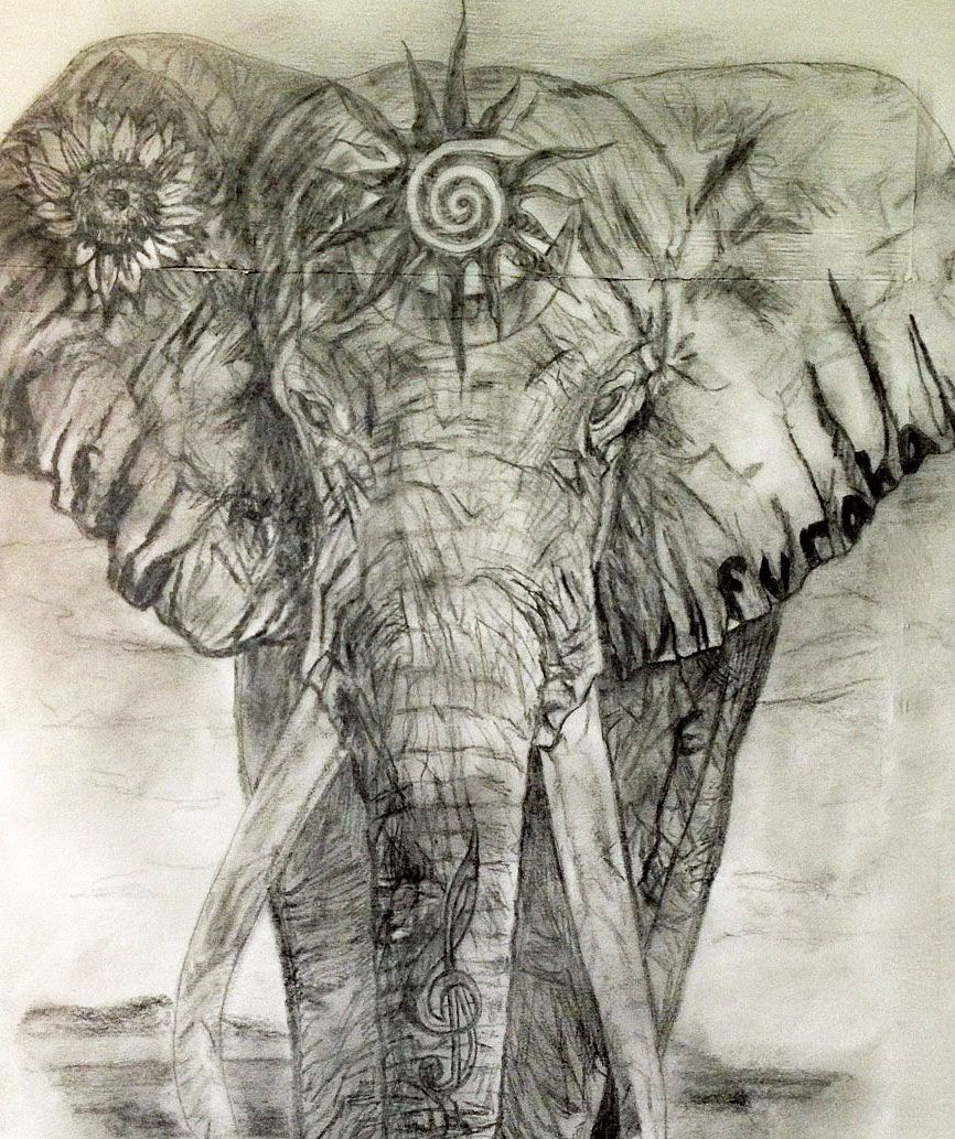 Buddhist Elephant Tattoo Meaning: Sacred Elephant Tattoo Design For The Heart Chakra