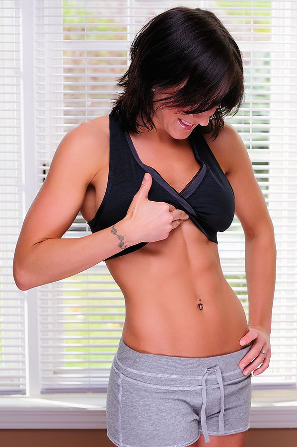 Fun ab exercises to target love handles