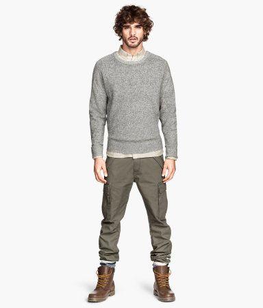 laest technology quality design enjoy bottom price Product Detail | H&M US | my get up | Green pants men, Cargo ...