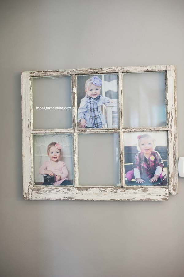 Love the old window for pictures! | Window Screens and Windows ...