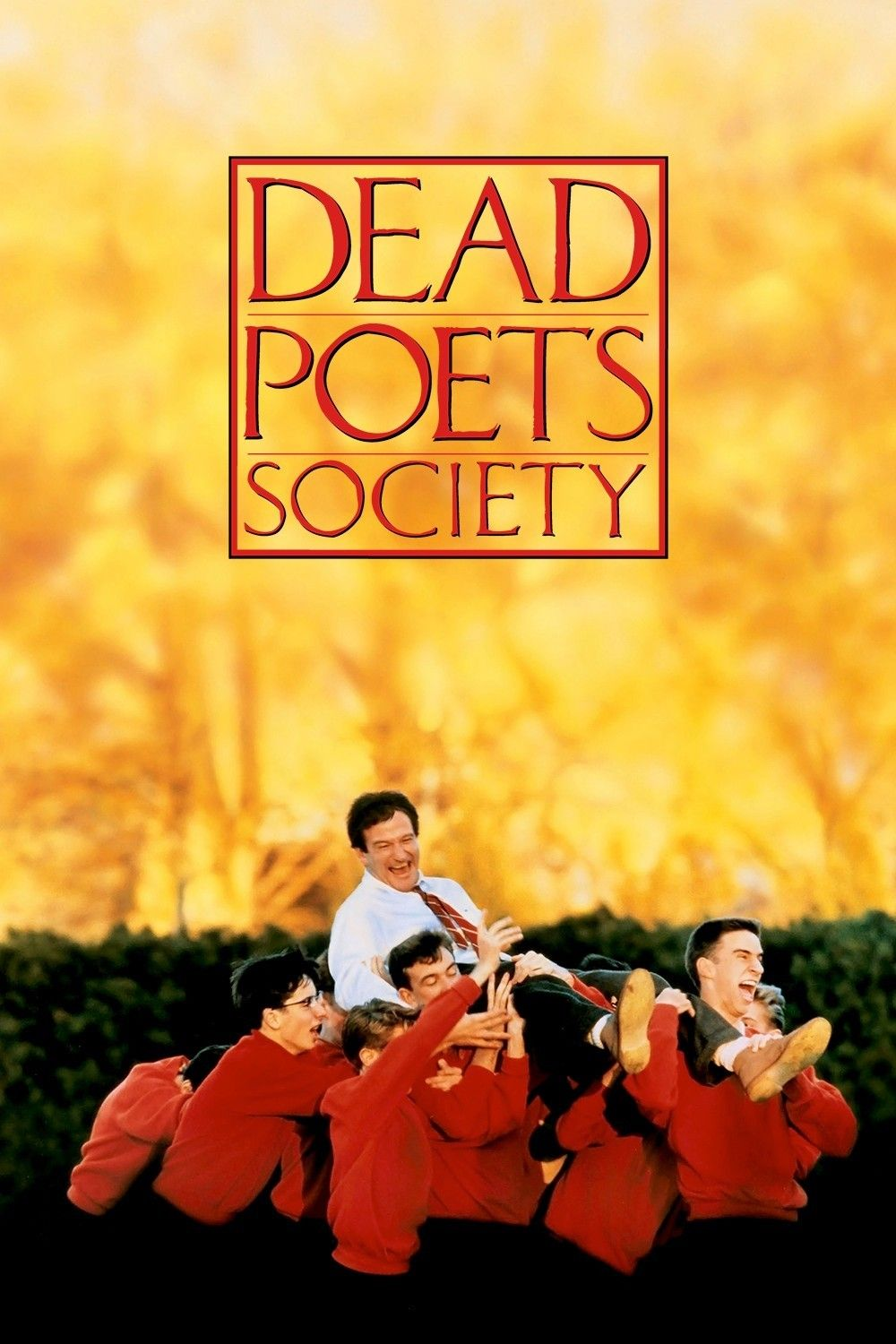 Dead Poet Society - Took it out to watch because I needed a little yawp in my life.