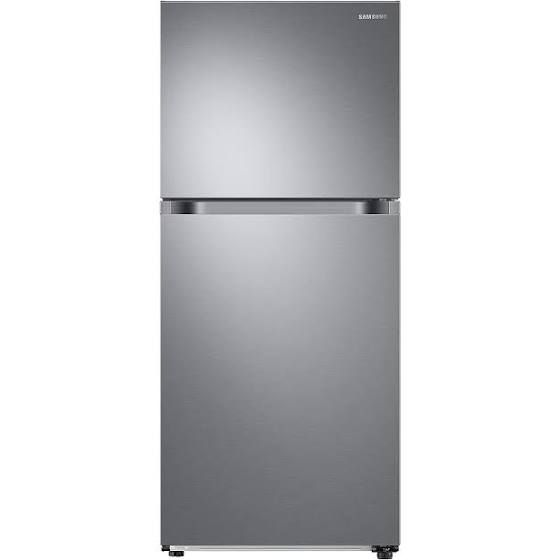 Samsung 17.6 Cu. Ft. Top Freezer Refrigerator With Flexzone™ Freezer And Ice Maker - Rt18M6215Sr/Aa - Top Freezers - Gray - Stainless Steel