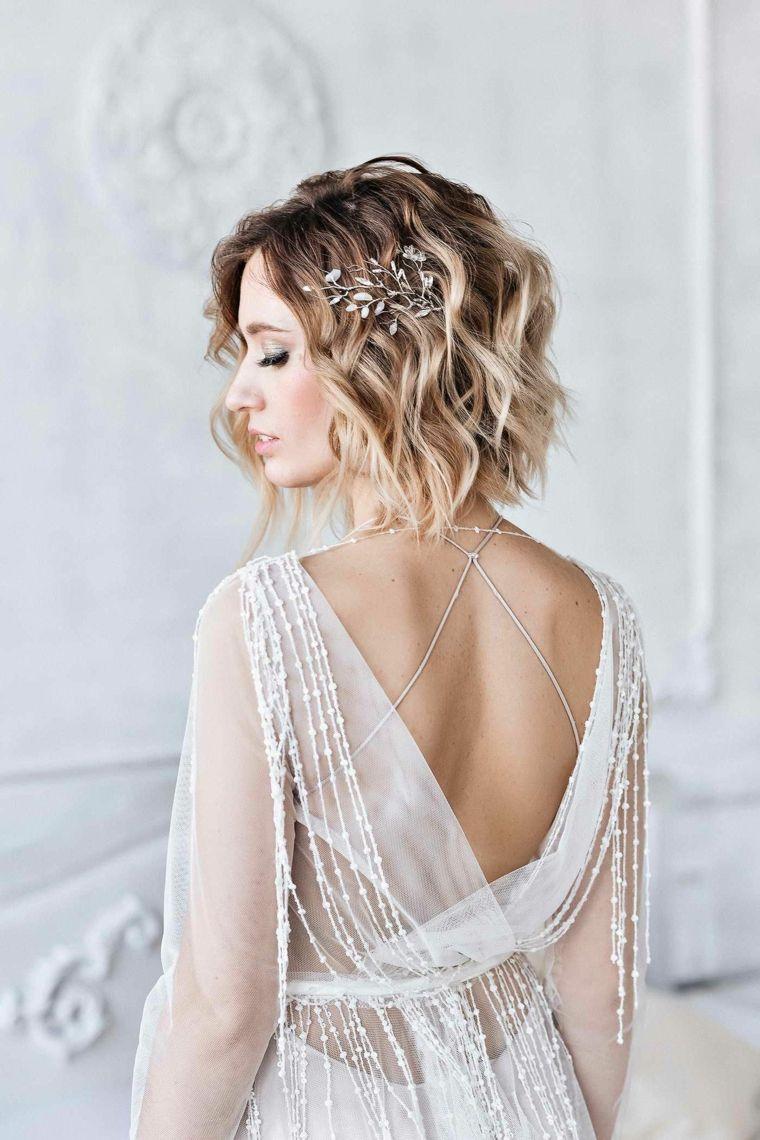 1001 + Idee per Acconciature matrimonio capelli corti nel ...