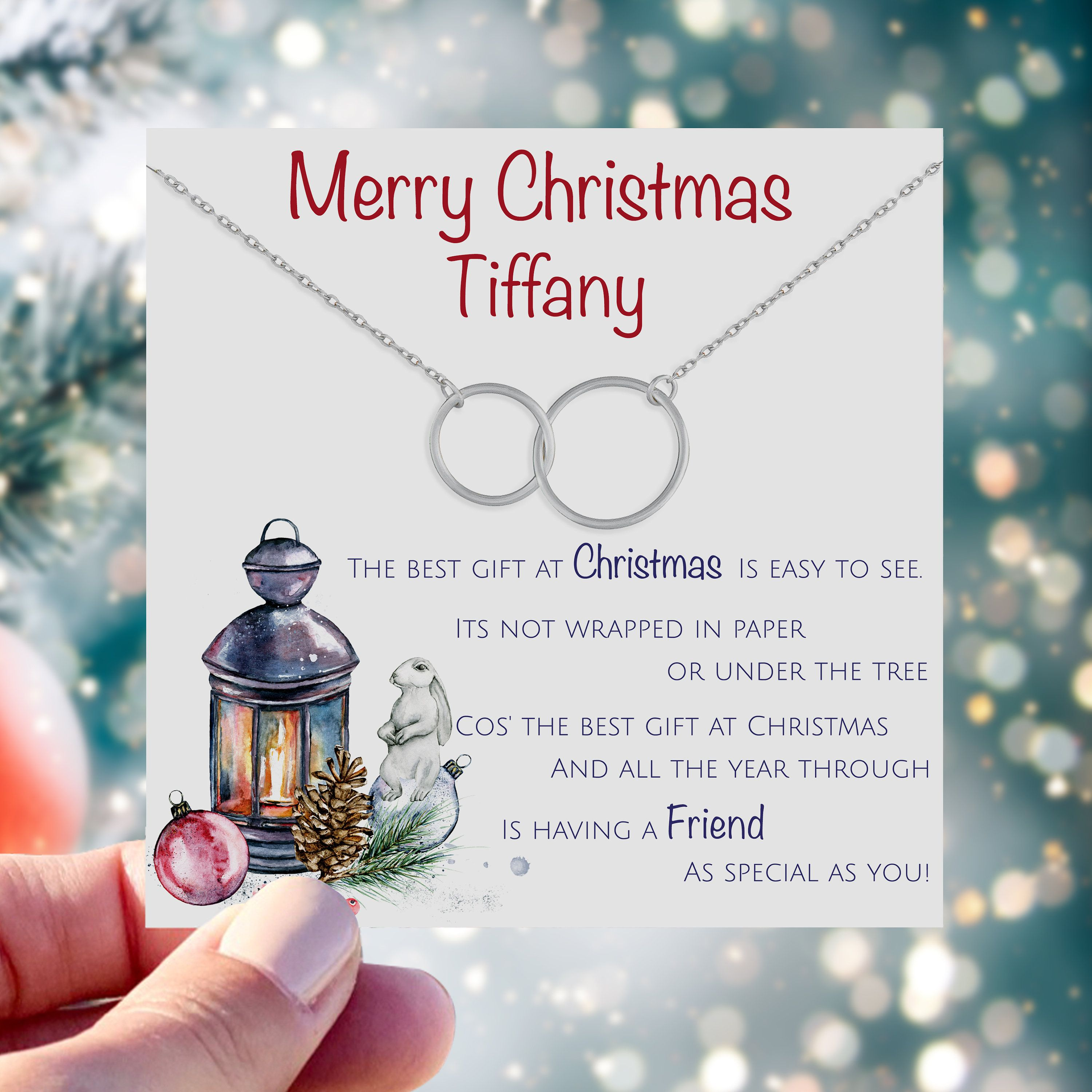 Friend Christmas Gifts Personalized Christmas Gifts For Best Friend Xmas Gifts For Friend Christmas Gifts For Sister Xmas Gifts For Mom Son Christmas Gift