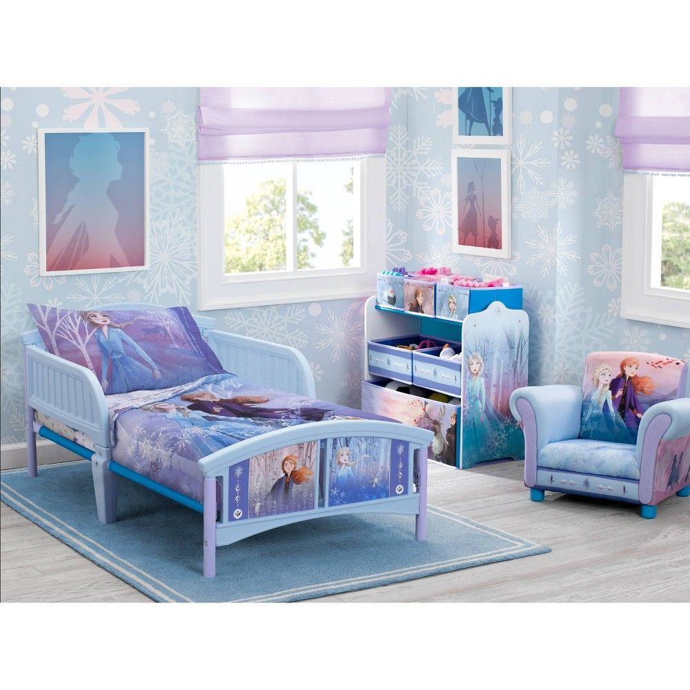 4pc Toddler Frozen 2 Bedding Set In 2021 Frozen Bedroom Toddler Bed Set Frozen Themed Bedroom