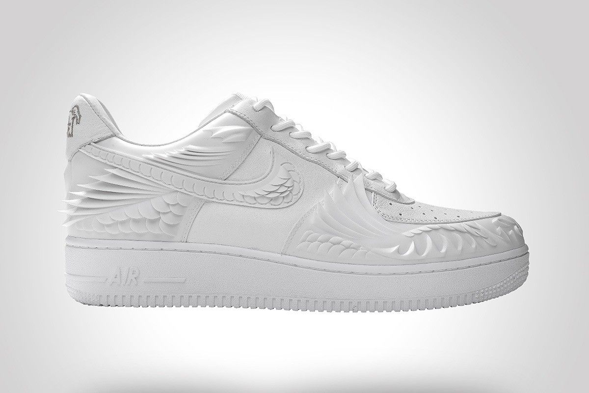 This Air Force 1 Is 3D Printed to Look Like a Koi Fish