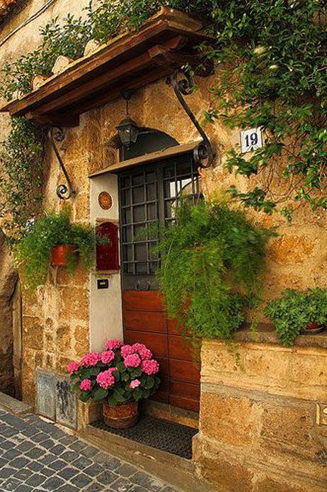 Italia Roma Entradas de casas, Casas encantadas