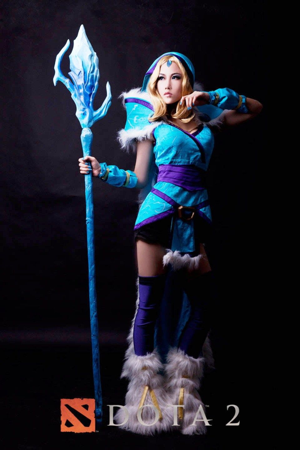 Download Free Dota 2 Crystal Maiden Wallpaper With High Definition