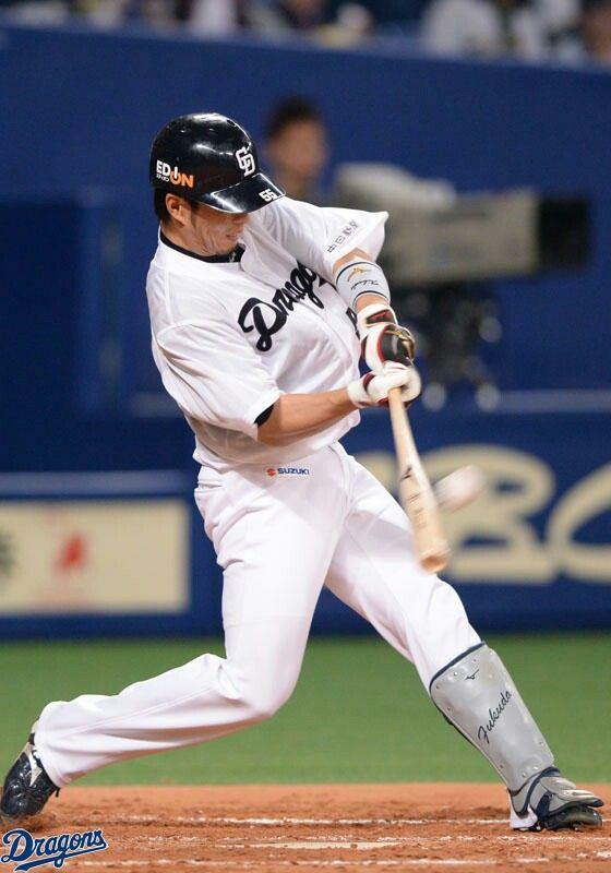 2回裏無死一塁、福田選手が左中間スタンドへ一発!! | 野球選手 ...