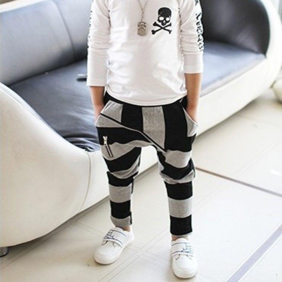Striped Harem Pants Fashionably Styled Kid Pinterest Kids
