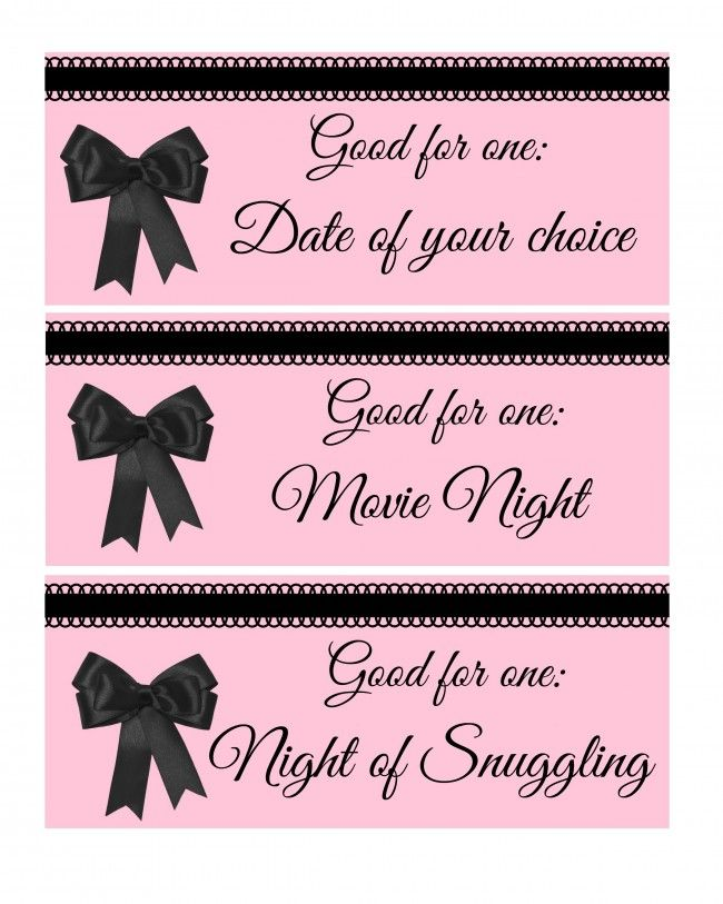 Adult Love Coupon Book FOR HIM DIY Printable by lilypadpress - how to make vouchers