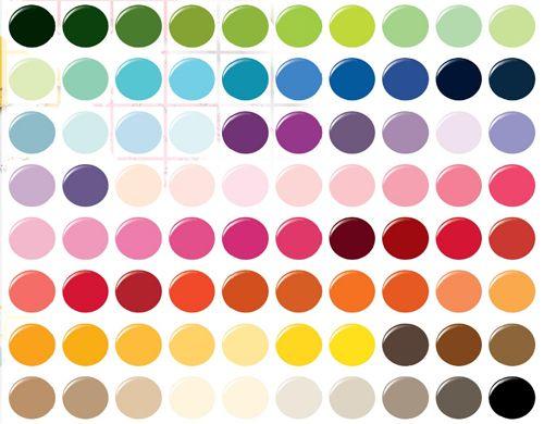 Martha Paint Colors Charts Color Chart
