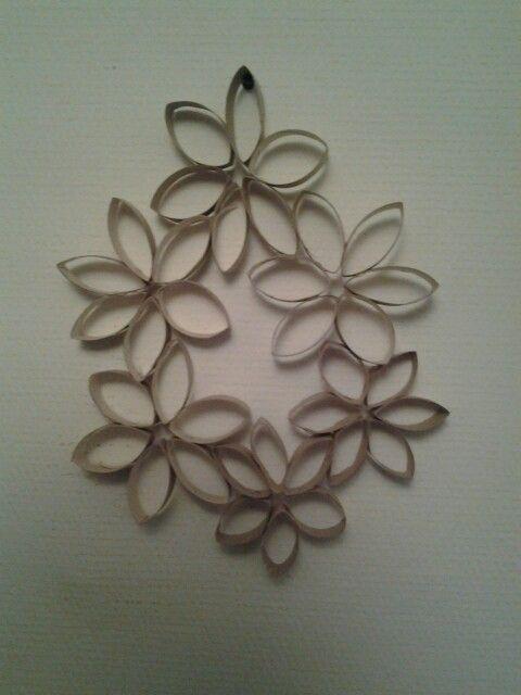 Fleur En Rouleaux De Papier Toilette Crafts Rouleau Papier