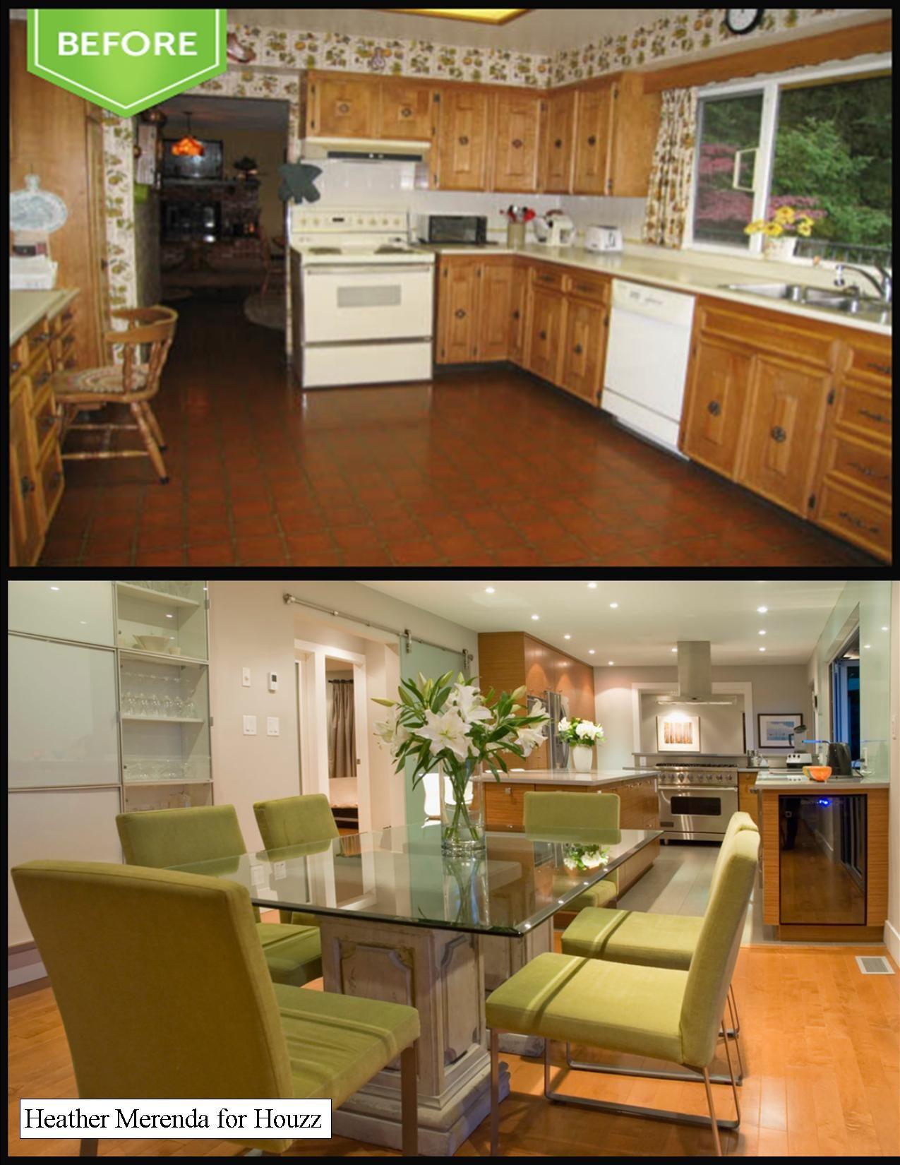 houzz recessed lighting. Brilliant Remodel Of A Vancouver 50\u0027s Home ~ Sandblasted Glass Barn Door, Recessed Lighting, Houzz Lighting I