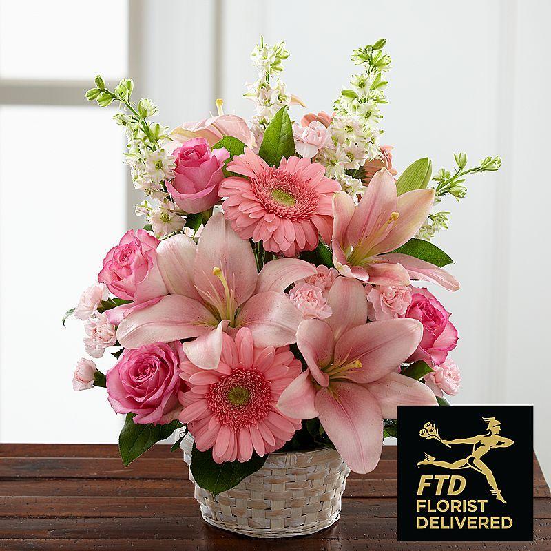 Whispering Love Arrangement Ftd flowers, Flower