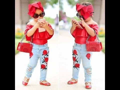 اجمل واشيك ملابس اطفال بنات للعيد 20184 Youtube Cute Outfits For Kids Cute Baby Girl Outfits Kids Fashion Girl