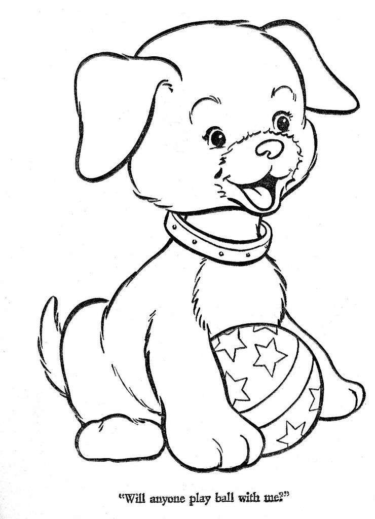 Hi Flyer Color Pg 44 Dog Coloring Page Animal Coloring Pages Coloring Books
