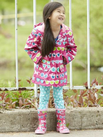 4f1d4372276 Hatley Cool Sunglasses Rain Boots and Lined Raincoat for girls. Now  available at www.tinysoles.com!